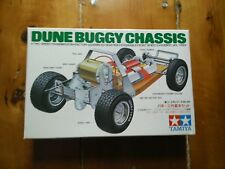 Vintage Tamiya Motorized Dune Buggy Chassis model VW Rough Rider Sand Scorcher