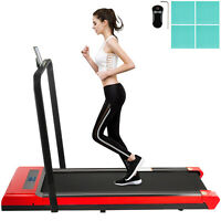 Treadmill, Under Desk Treadmills For Home, Working Treadmills w/ Handrail Indoor