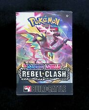 Pokemon Sword and Shield Rebel Clash Build and Battle Box! Free Shipping!