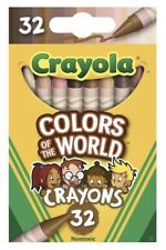 Crayola Colors Of The World 32 Pack Crayons- Brand New