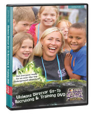 GROUP VBS CAVE QUEST DIRECTOR GO-TO RECRUITING & TRAINING DVD. NEW SEALED!