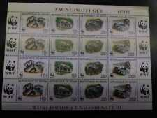 O - r) 1999 BENIN, WWF - WORLD WILDLIFE FUND- SNAKE - PYTHON REGIUS, PROTECTED