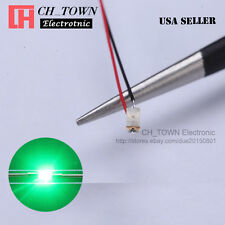 10PCS 0805 2012 Green Light Pre-Soldered Micro Pre Wired 20CM SMD LED Diodes