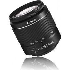 New Canon EF-S 18-55 mm / 18-55mm F/3.5-5.6 III Lens f/ DSLR White Box