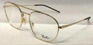 Ray Ban 0RX 6414 2500 GOLD Eyeglasses