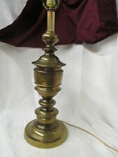 Vintage solid Brass Table Lamp very heavy