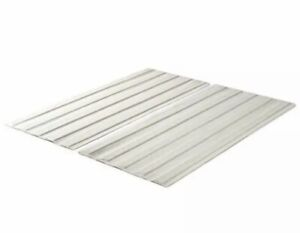 Zinus Annemarie Solid Wood Bed Support Slats / Fabric-Covered / Bunkie TWIN