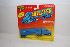 ROAD CHAMPS ANTEATER DIECAST #7372 KENWORTH TRACTOR, GLOBAL TRAILER, HO/1:87 #2