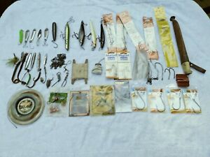 Huge Lot Saltwater Fishing Rigs,Tackle,Lures,Hooks,Jigs,Some new,used