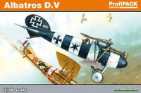 EDUARD 1/48 ALBATROS D.V ProfiPack 8113 WWI German fighter kit. *NEW*