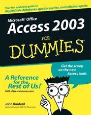 Access 2003 for Dummies (For Dummies)-John Kaufeld