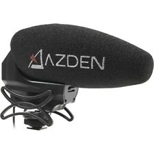 Azden SMX-30 Stereo/Mono Switchable Video Microphone, New, Black