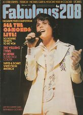 FABULOUS / FAB 208 Magazine - 29 Sept 1973  - Donny Osmond Andy David Williams