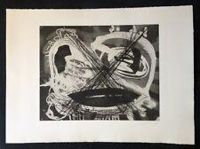 Arne-Berdn Rhaue, Blind, Radierung, 1989, handsigniert und datiert
