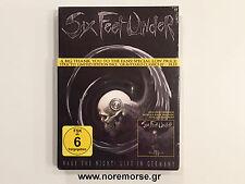 SIX FEET UNDER - WAKE THE NIGHT! LIVE IN GERMANY [DVD/CD] LTD 2011 NEW SEALED