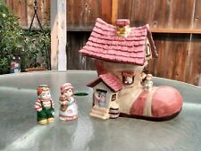 COOKIE JAR OLD WOMAN WHO LIVED IN THE SHOE BICO CHINA