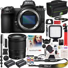 Nikon Z6 Mirrorless Digital Camera & NIKKOR Z 24-70mm F4 S Lens Accessory Bundle
