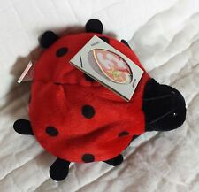 NWT MINT Ty Beanie Baby 4th Generation 1995 Lucky the Ladybug