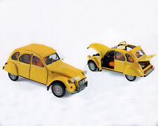 CITROEN 2cv 6 Club, amarillo, 1:18 , NOREV