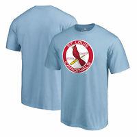 St. Louis Cardinals Fanatics Branded Huntington T-Shirt - Light Blue