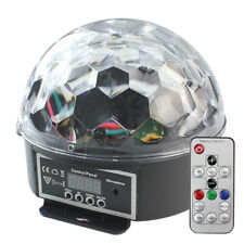 Discokugel Beleuchtung mit Fernbedienung LED Lichteffekt RGB DJ Party Projector
