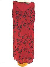 Lovely Sz 8 Veronika Maine Red Slip Dress Designer