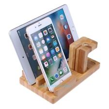 Bamboo Wood Charge Holder Docking Station Bracket Stand For Apple Watch iPhone