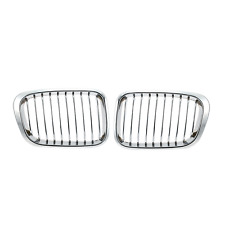 Chrome Grille Kidney Grill for BMW E46 3 Series 4 Door 1998-2001