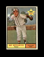 1961 Topps Baseball #276 Ray Rippelmeyer RC (Reds) EXMT