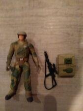 Vintage Star wars ENDOR REBEL SOLDIER (avec Survie Sac à dos & Blaster Rifle 1997)