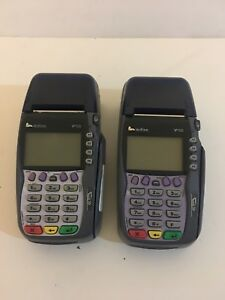 """Lot of (2 )Verifone VX570 Dual Comm Terminal """"AS IS NO WARRANTY"""""""