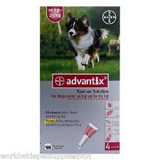 Advantix for dogs K9 Advantix up to 22-55lbs (10-25kg) 8 Pack