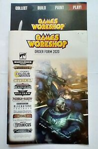 Games Workshop Order Form 2020 ~ TS