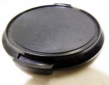 Lens front cap 58mm snap on plastic black