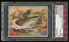 1939 War News Pictures #057 French Tank In Action PSA 6 EX-MT Cert #22485657