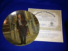 "Gone With the Wind ""Rhett"" Plate with C.O.A. and Box #6716I"