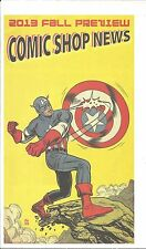 COMIC SHOP NEWS CSN 2013 FALL PREVIEW CAPTAIN AMERICA MARVEL RARE PROMO GIVEAWAY