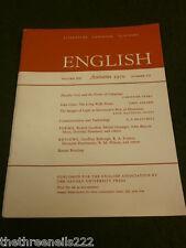 ENGLISH ASSOCIATION - AUTUMN 1970 VOL 19 # 105 - JOHN CLARE THE LONG WALK HOME