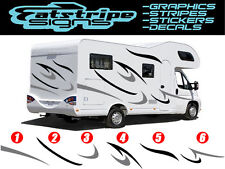 MOTORHOME VINYL GRAPHICS STICKERS DECALS SET CAMPER VAN RV CARAVAN HORSEBOX x22