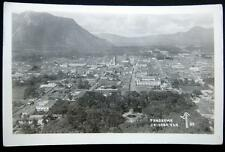 MEXICO~ 1930's AERIAL VIEW OF ORIZABA VER. ~ Real Photo PC  RPPC