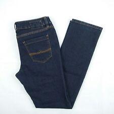 ESPRIT DENIM Dark Blue Straight Slim Denim Jeans Women's Size 12 W31 #XCC014A