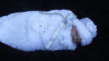 KNITTING PATTERN FOR CHUNKY COCOON / HAT  SIZE  20 /24 IN REBORN  OR BABY
