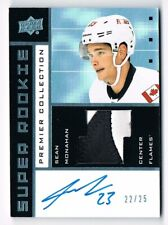 2014-15 Upper Deck Premier 2002-03 Super Rookie Autograph Patch Sean Monahan /25