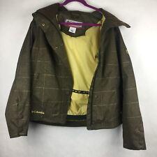 Columbia Sportswear Convert Womens Weatherproof Breathable Sealed Jacket Hooded