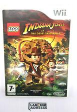 WII JEU VIDEO LEGO INDIANA JONES LA TRILOGIE ORIGINALE - COMPLET - NINTENDO