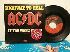 "ac/dc""higway to hell""single7"".Fr.or.1979.at:11321.we171.pochette rigide juke-box"