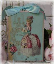 """""""SHOPPING WITH MARIE"""" Vintage ~ French ~ Country Cottage style Wall Decor Sign"""