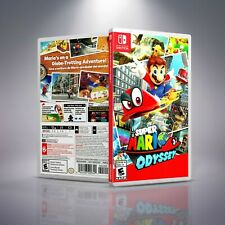 Super Mario Odyssey - Replacement Nintendo Switch Cover and Case. NO GAME!!