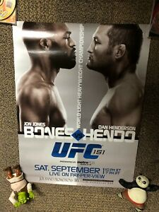 Official UFC 151 Fight Poster Jon Bones Jones Vs Dan Hendo Henderson