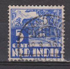 Nederlands Indie 251 CANCEL BANDOENG Karbouw 1938 Netherlands Indies watermark